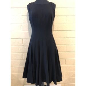 Calvin Klein | *BLACK Fit & Flare Pleated Swing 👗